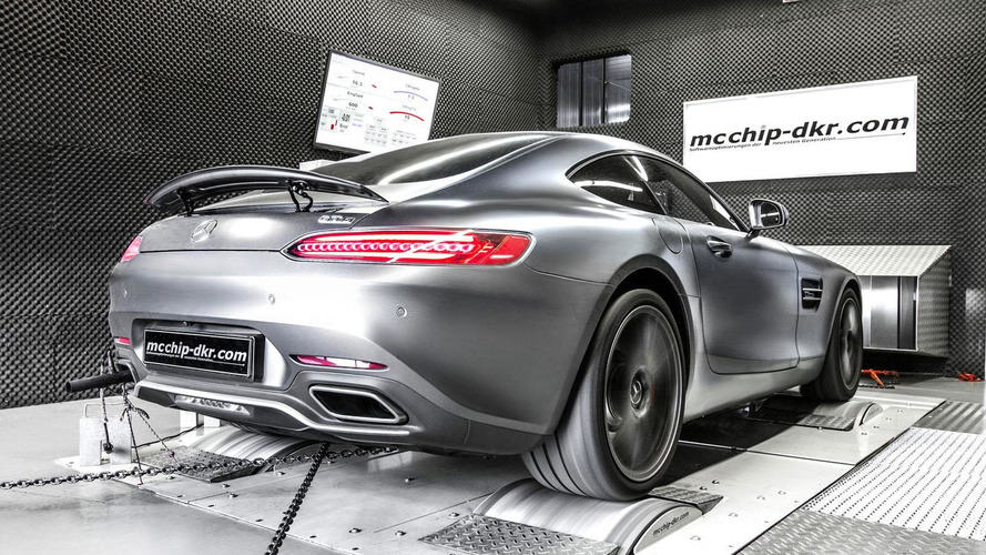 Mercedes-AMG GT gets tuned to 590 PS