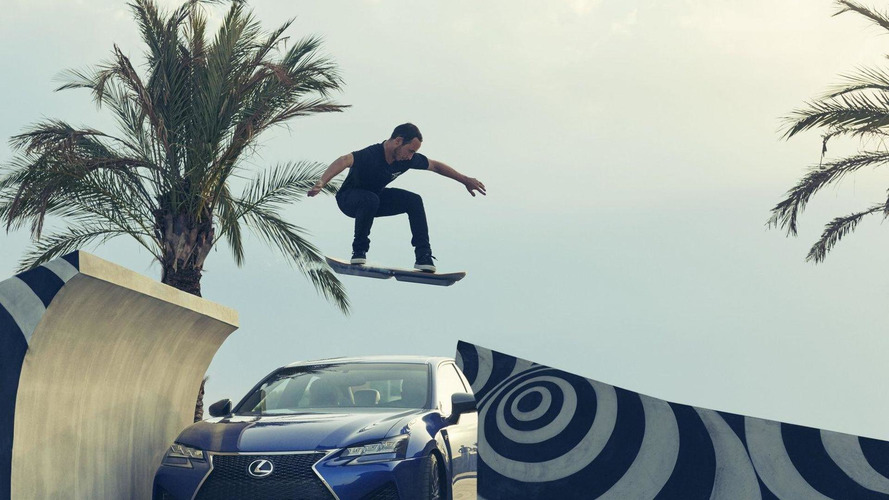 Lexus hoverboard returns in two new videos