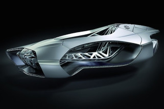 3D-Printed EDAG Genesis Concept Could Change the Way Cars Are Produced [w/video]