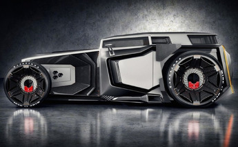 Lamborghini Rat Rod Blends the Best of Old and New [w/video]