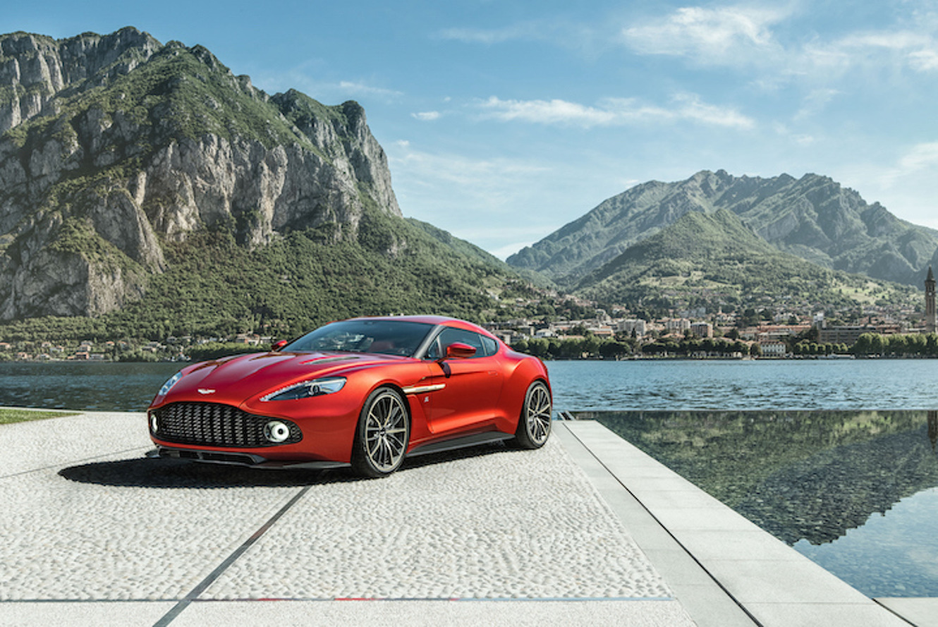 Aston Martin Vanquish Zagato Heading to Production in Limited Numbers