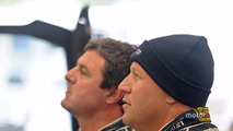 Mark Blundell and Zak Brown