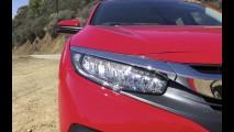 Vídeo: os detalhes do novo Honda Civic 2016 à luz do dia