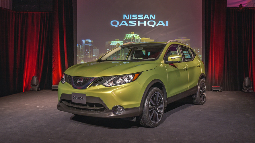2017 Nissan Qashqai unveiled as a smaller Rogue