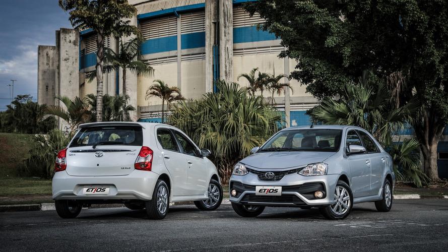 Toyota deve produzir 180 mil unidades de Corolla e Etios em 2017