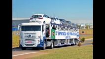 Hyundai inicia exportação do HB20 para o Uruguai