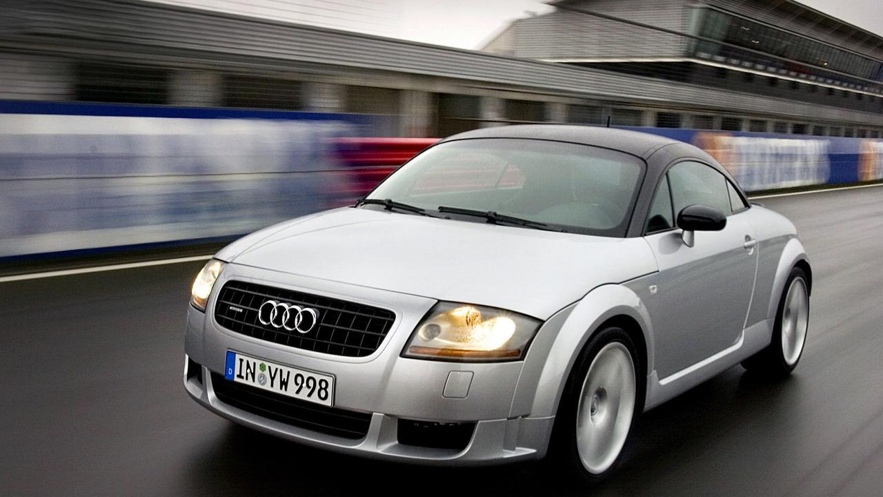 Worst Sports Cars Audi Tt First Generation