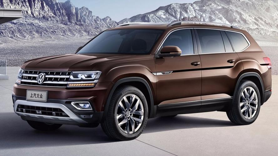 Irmão do Atlas, Volkswagen Teramont é o SUV grande da marca para a China
