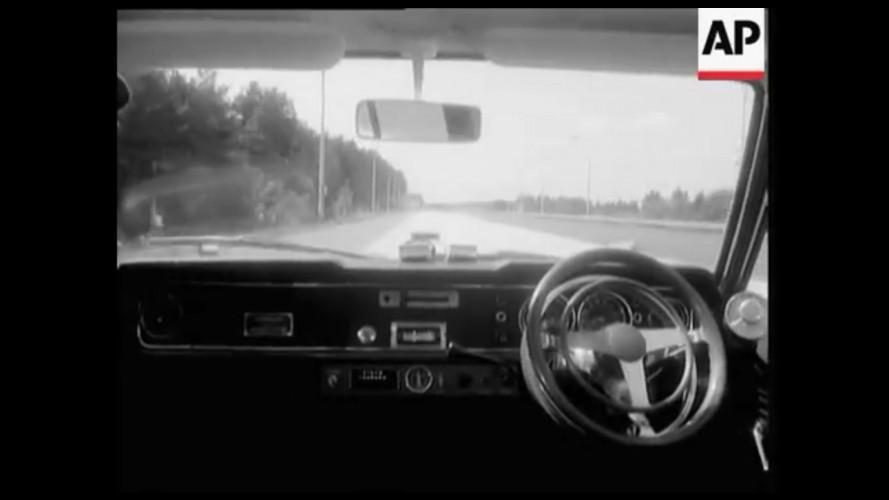 Carro sem motorista de 1971 já previa surgimento dos autônomos - vídeo