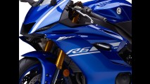 Nova Yamaha YZF-R6 2017 ganha componentes da R1 e pacote eletrônico