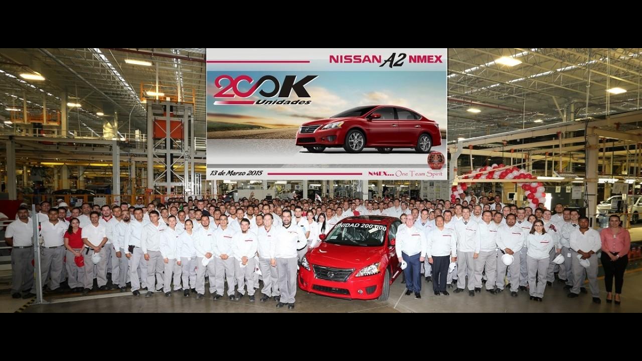 Ritmo acelerado: Nissan produz um Sentra a cada 55 segundos no México