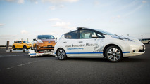 Nissan Leaf tow vehicle
