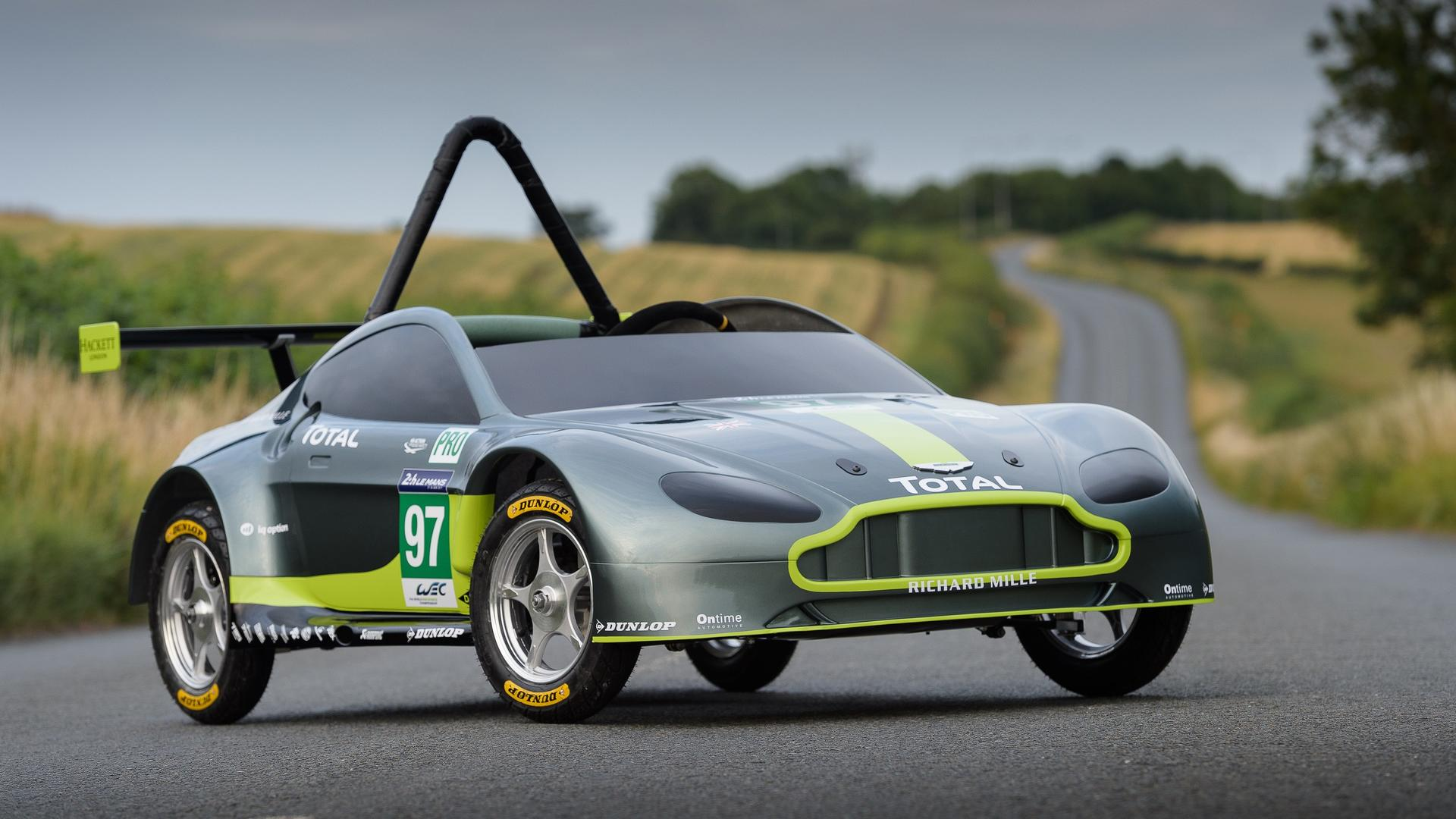 this is the new gravity powered aston martin race car. Black Bedroom Furniture Sets. Home Design Ideas