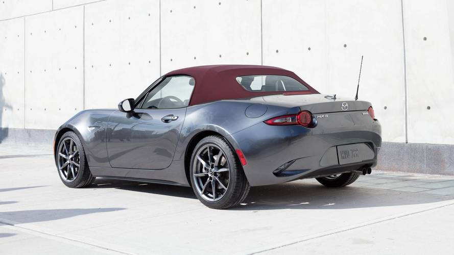 Mazda Miata Gets A Stylish Red Roof, New Options For 2018