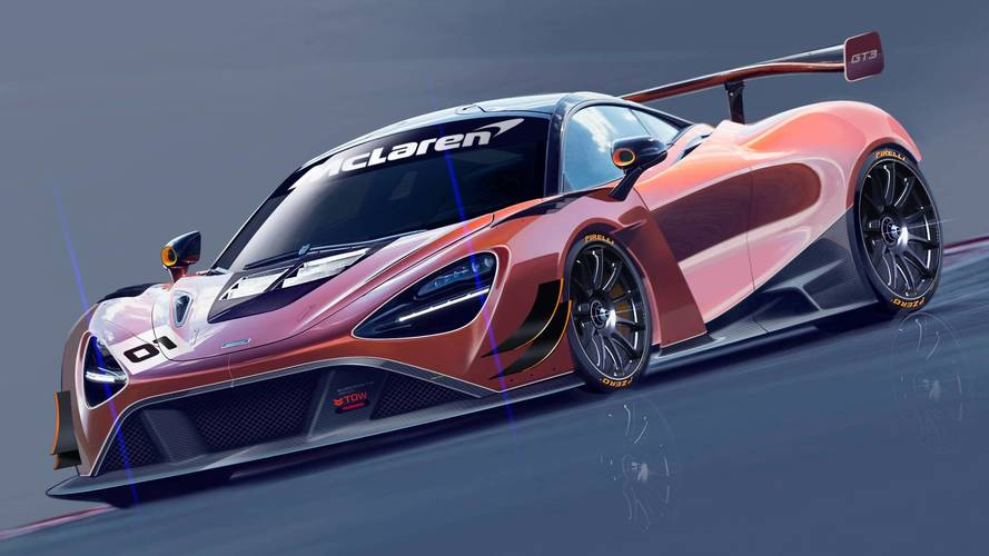 McLaren reveals first glimpse of 720S GT3 racing car