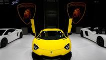 Lamborghini Aventador LP 720-4 50° Anniversario live in Shanghai