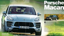 2014 Porsche Macan scan from Auto Motor und Sport magazine 31.10.2013
