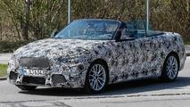 BMW 2-Series Convertible spy photo