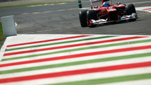 Fernando Alonso racing at Monza