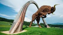 Toro Rosso statue 20.07.2013 Red Bull Ring, Austria