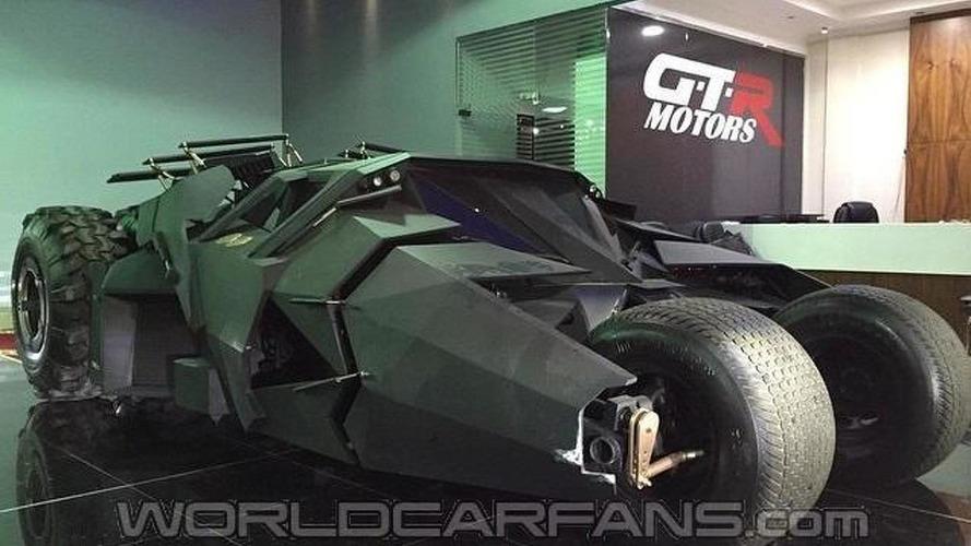 Tumbler batmobile replica for sale in Dubai