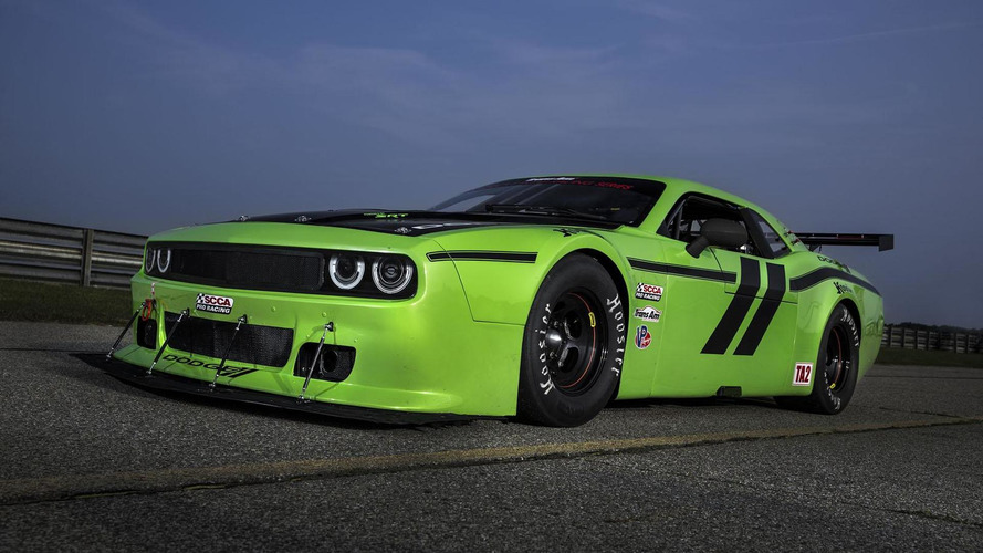 Dodge Challenger SRT Trans Am race car unveiled