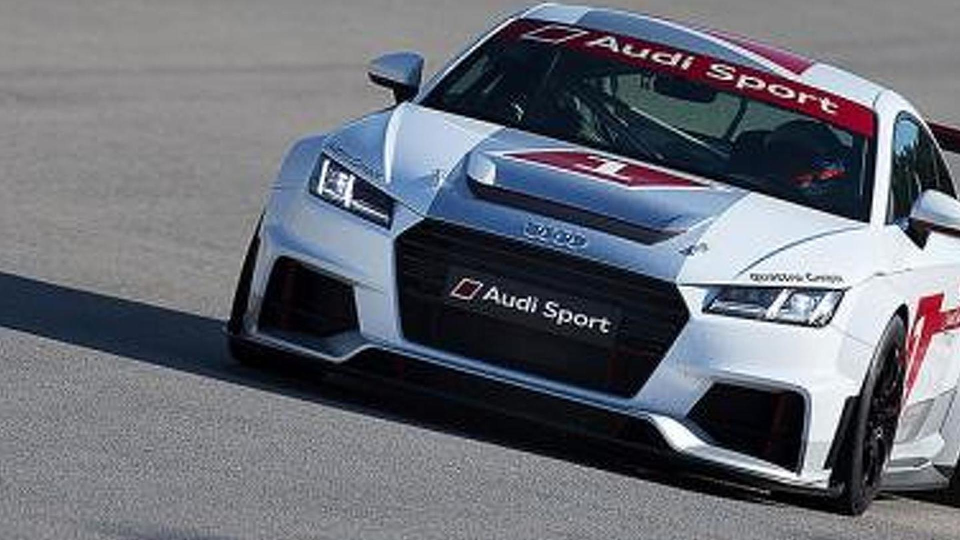 Audi TT Race Car Revealed Will Compete In New Singlemake Series - Audi car series