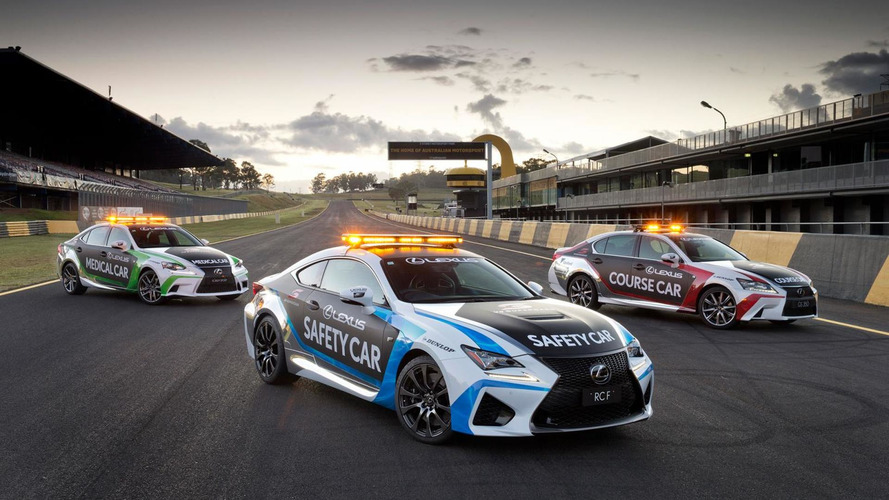 Lexus RC F Safety Car unveiled for V8 Supercars