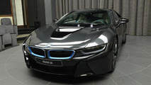 BMW i8 in Sophisto Grey looks delicious
