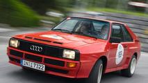 Audi Sport quattro Celebrates 25 year Anniversary