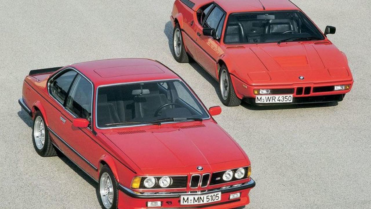 BMW M635 CSi and BMW M1