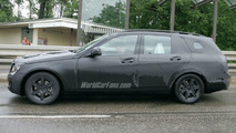 Mercedes C-Class spy photo