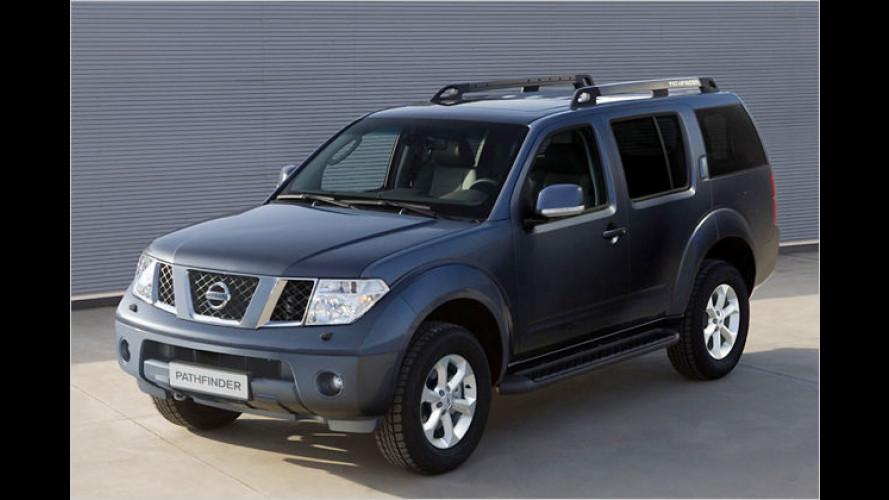 Nissan Pathfinder und Navara mit neuer Topausstattung