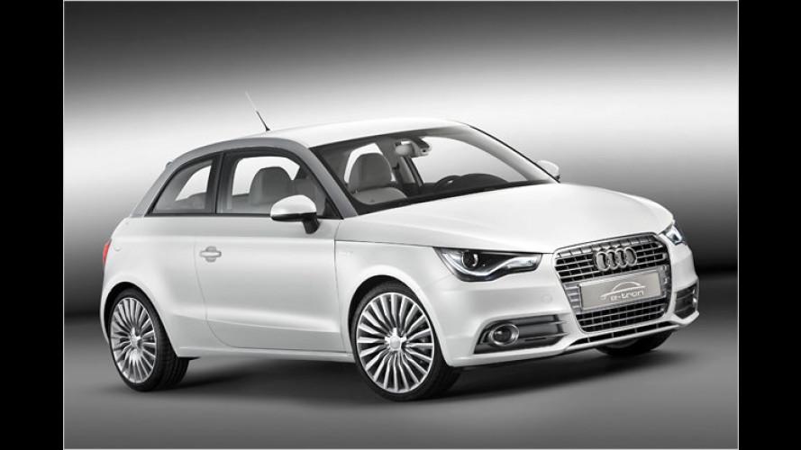Audi A1 e-tron: Sauberes Wankel-Comeback