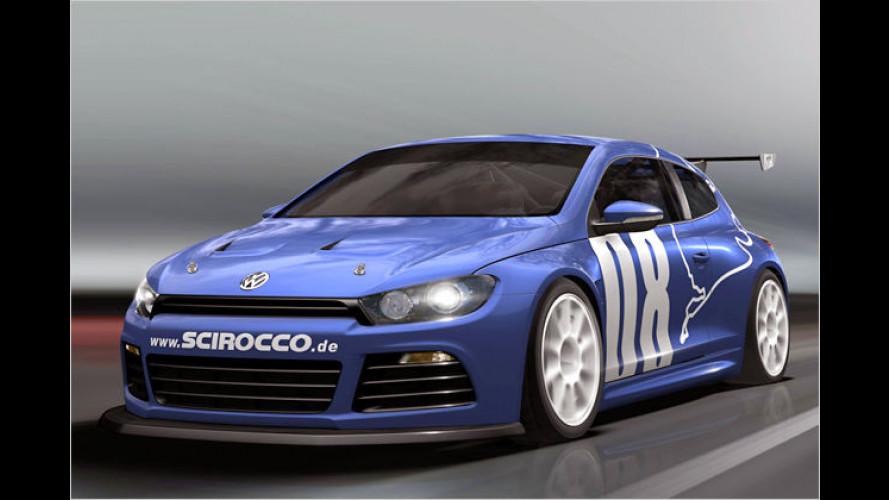 Da bebt der Wörthersee: VW enthüllt Renn-Scirocco