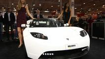 Brabus Tesla Roadster at Essen Motor Show