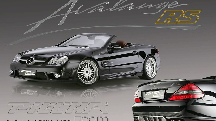 Mercedes SL based Piecha Design Avalange RS