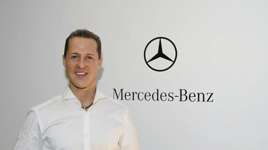 Schumacher helps Hockenheim sell tickets, Merc sell cars