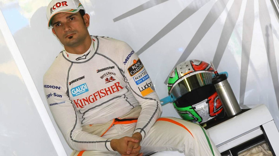 Liuzzi not in talks to end Force India deal