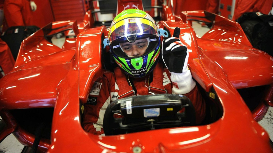 Massa enjoys test in 2008 Ferrari