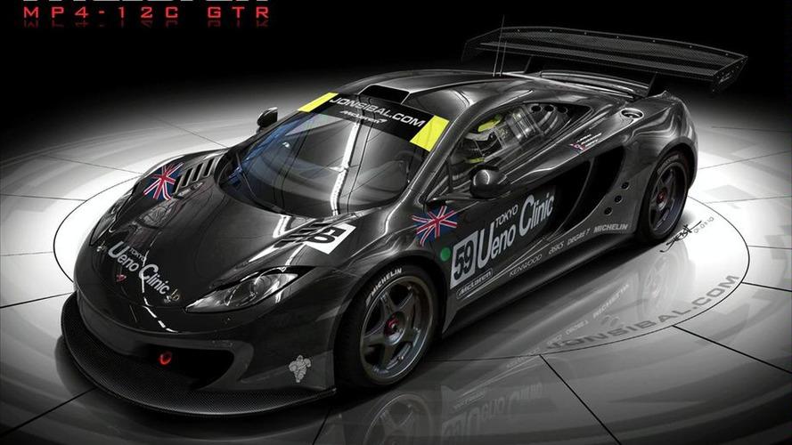 McLaren MP4-12C GTR Rendered