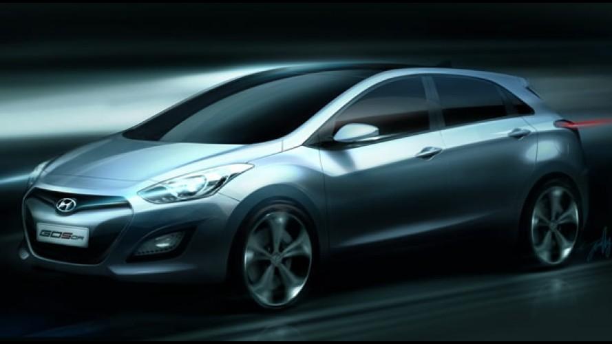 Este é o Novo Hyundai i30 2012 - Marca divulga primeira imagem oficial
