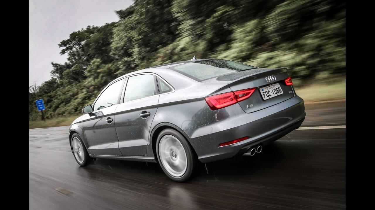 Novo Audi A3 Sedan 1.4 TFSI chega ao Brasil a preço de Corolla