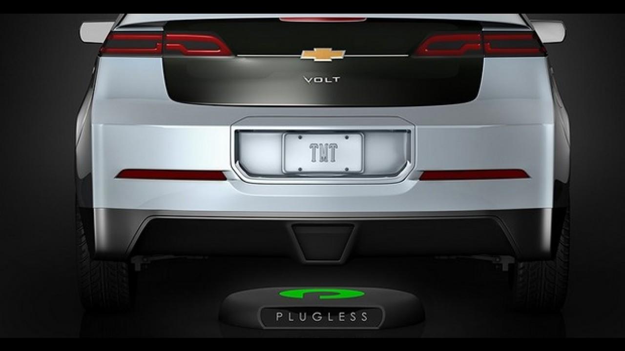 Bosch lança carregador sem fio para veículos elétricos