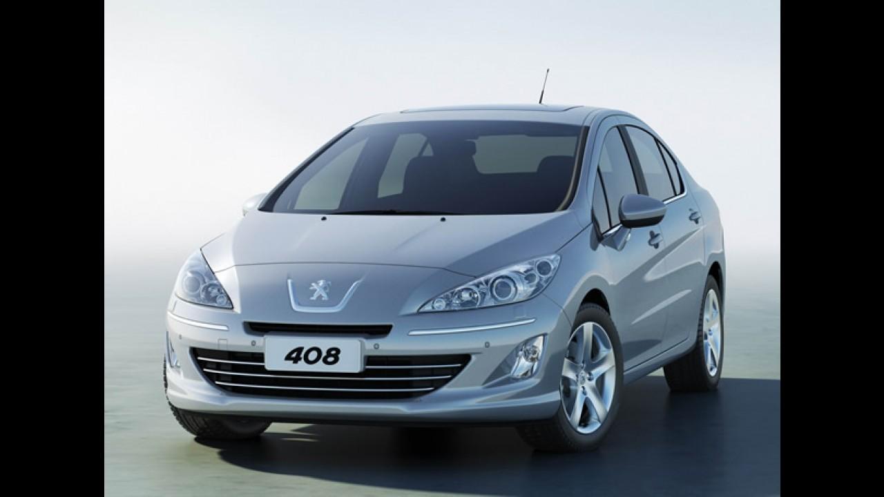 Peugeot 408 Turbo chega oficialmente em fevereiro