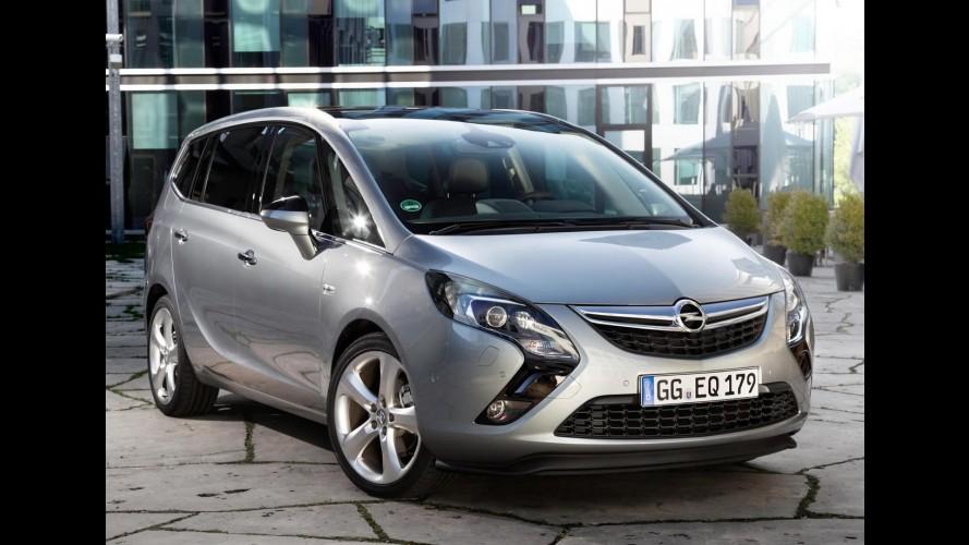 Opel poderá equipar Zafira Tourer com motor Diesel biturbo
