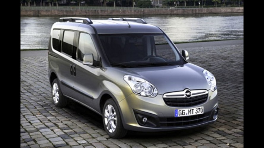 Salão de Frankfurt: Opel mostra utilitário com cara de Fiat Doblò