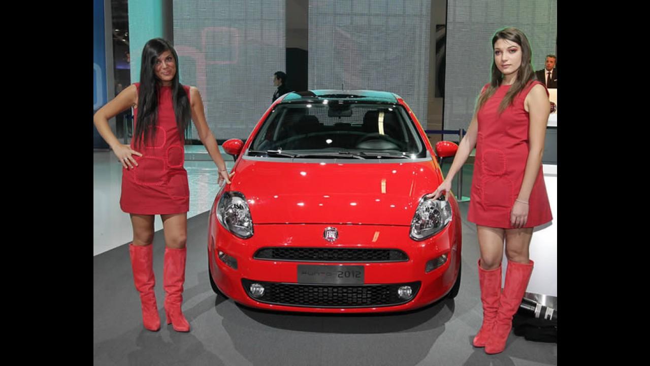 Nova geração do Fiat Punto sairá somente em 2014