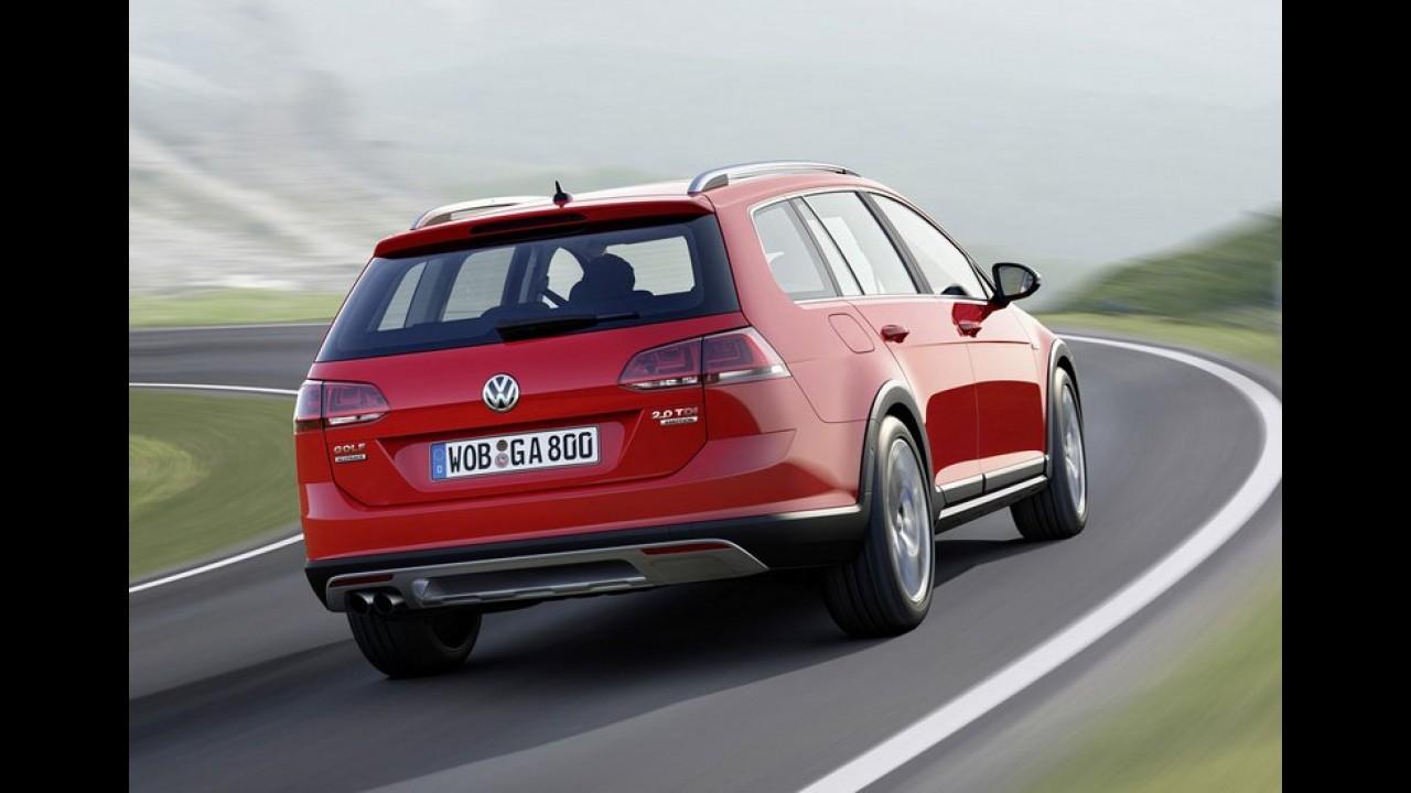 Volkswagen Golf Variant ganha versão aventureira Alltrack - veja galeria