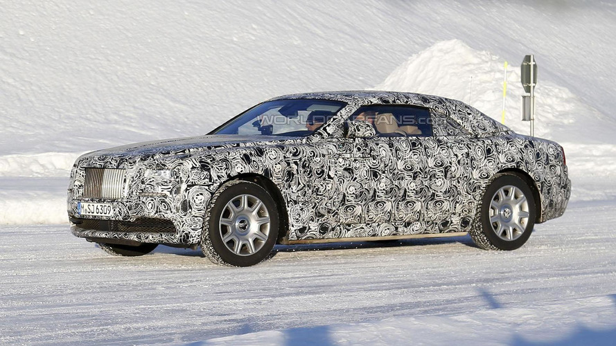 Rolls-Royce Wraith Drophead Coupe spied undergoing cold weather testing